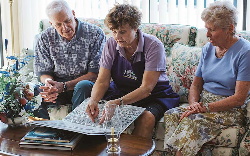 Preparing and planning a senior move