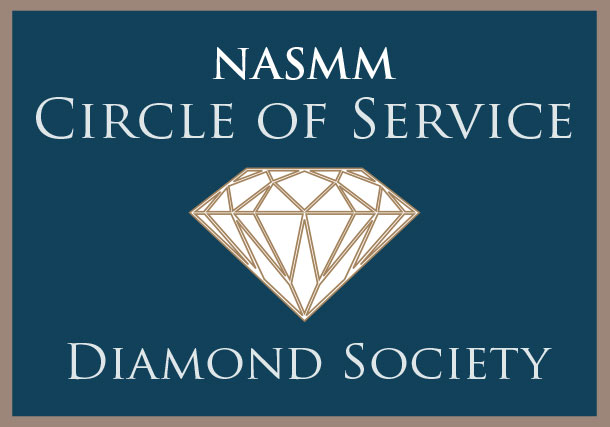 NASMM Circle Diamond Society Member