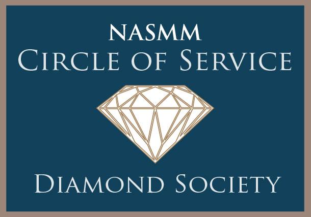 NASMM Circle Diamond Society Member