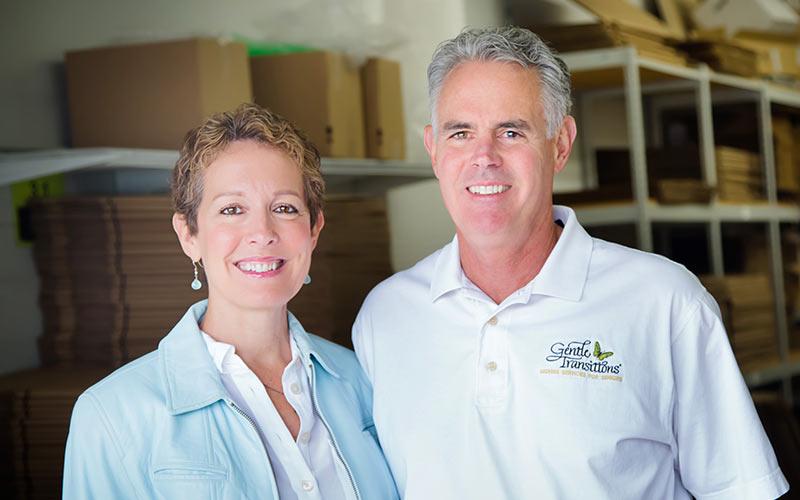 Diane Bjorkman and Bill Lehman, Gentle Transitions owners
