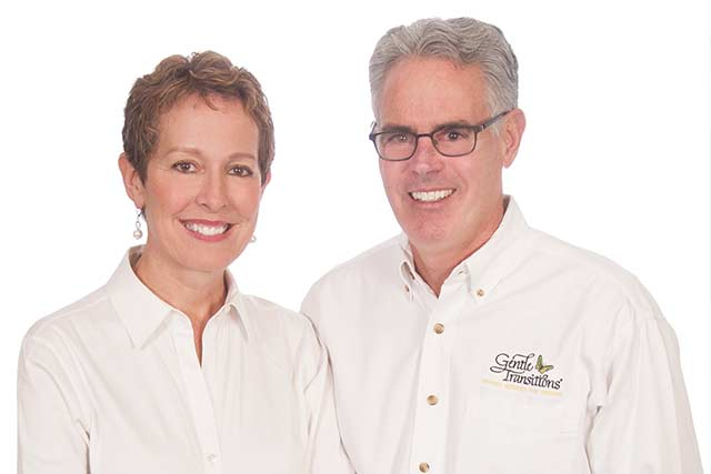 Diane Bjorkman and Bill Lehman, Gentle Transitions owners
