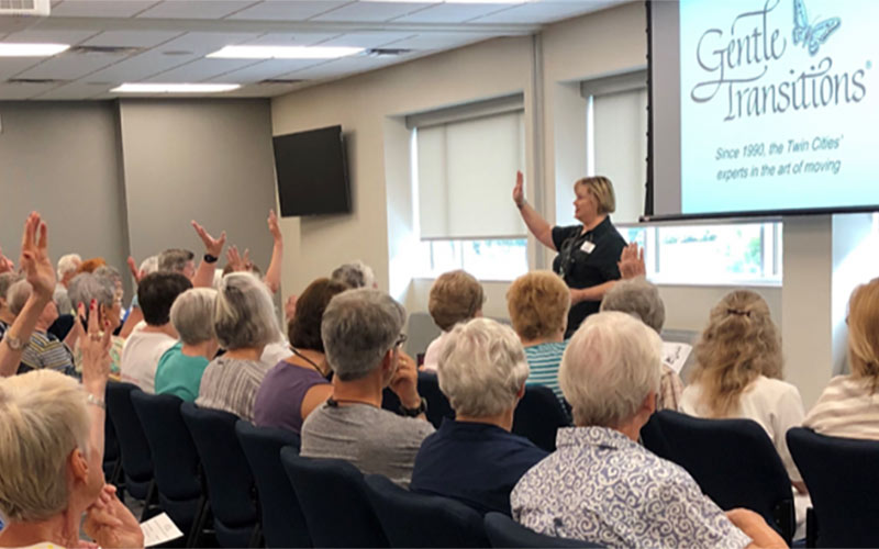 Free Senior Moving Seminars in Minnesota